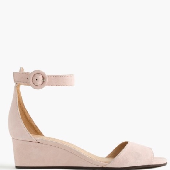 ddaf2fdf9897 J. Crew Shoes - NWOT J. Crew Laila Wedges in Suede Size 7.5