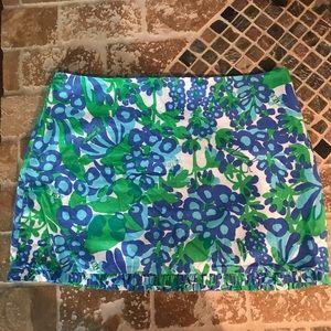 Lilly Pulitzer ! Mini skirt. Size 6