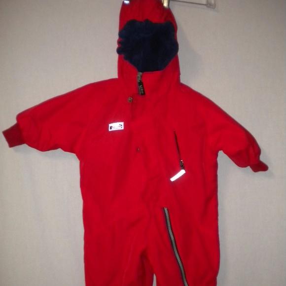 0372d26ba Lands' End Other - Lands End Baby Boy 12 Months Lined Winter Snowsuit