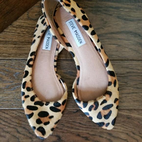 7965e07d9e37 Steve Madden Elusionl Leopard Flats. M_59b97b7c4e95a39d3304874a