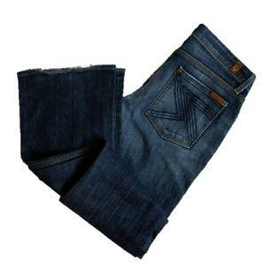 7FAM 7 FOR ALL MANKIND flynt denim jeans