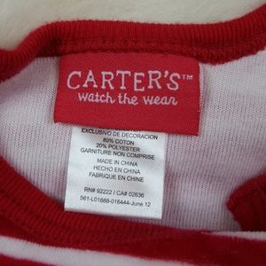 Carter's One Pieces - Carter's Santa Footie