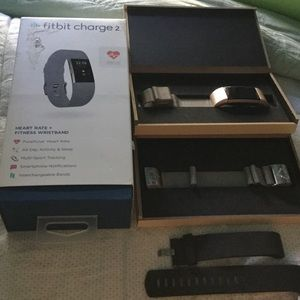 Other - Fitbit Charge With Black Band & 2 Magnetic Bands