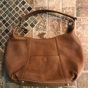Isaac Mizrahi leather bag!