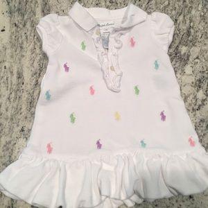 Baby girl Ralph Lauren dress