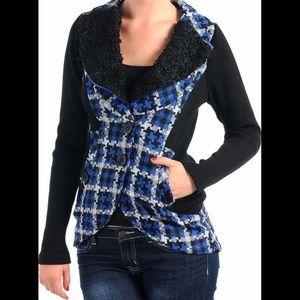 Jackets & Blazers - New HOUNDSTOOTH Plaid Jacket
