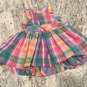 Ralph Lauren Plaid baby girl dress