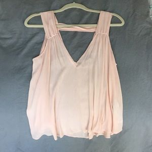 Forever 21 light pink blouse