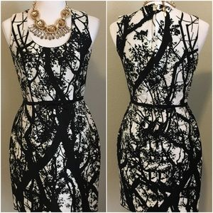 Taylor Abstract Tree Dress