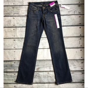 NWT Mossimo  low rise boot cut jeans size 00