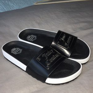 Juicy Couture Slide-On Sandals