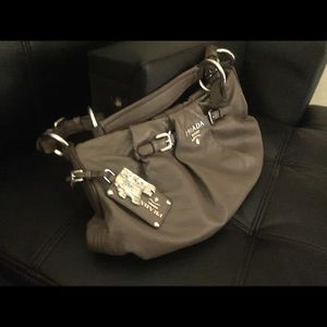 Prada flawless hobo bag 100% authentic paid 600