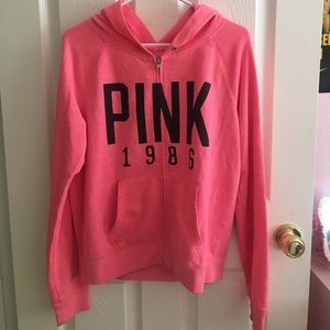 💕VS PINK ZIP UP HOODIE💕