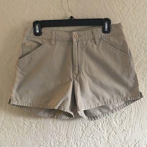 Calvin Klein Khaki Shorts Size 7