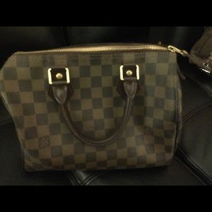 Louis Vuitton Speedy 25 handbag RARE Must Go