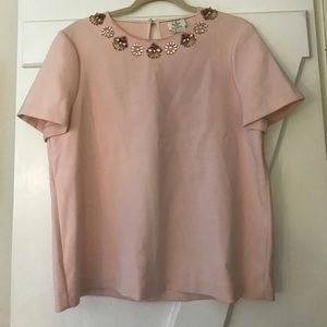 Pink tailored top