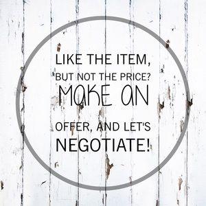 🌿 Let's negotiate! 🌿