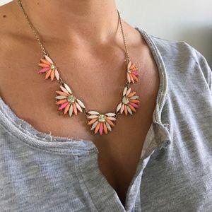 J. Crew Jewelry - J.Crew bright flower necklace
