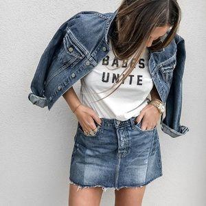 Grlfrnd Claudia Mini Skirt