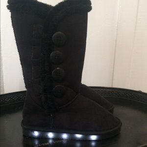 Other - Girls LED Light Up Boots