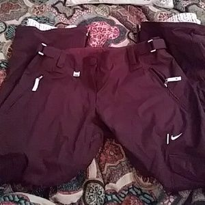 Nike Snowboarding Pants (Burgundy)