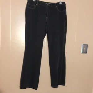 Dark Coldwater Creek Bootcut jeans