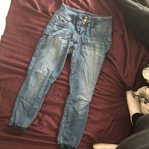 👖cuffed jeans 👖