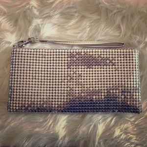 Handbags - Metallic wristlet