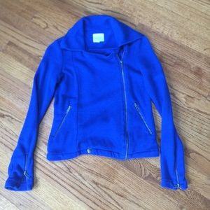 Blue jacket. Excellent condition