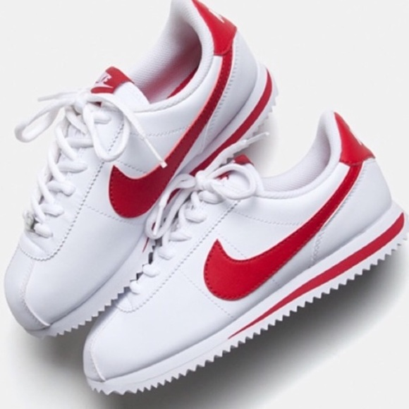 nike cortez woman leather shoes