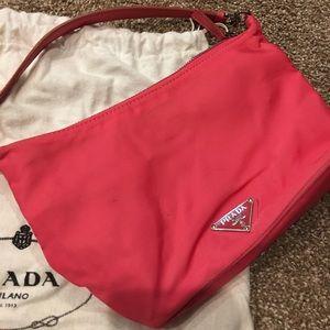 Prada Bags - Prada pink bag with dust cover and Prada Certifica