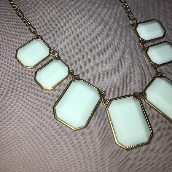 J. Crew Jewelry - J.Crew turquoise gem necklace