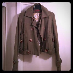 Les Petites 100% cotton cropped jacket