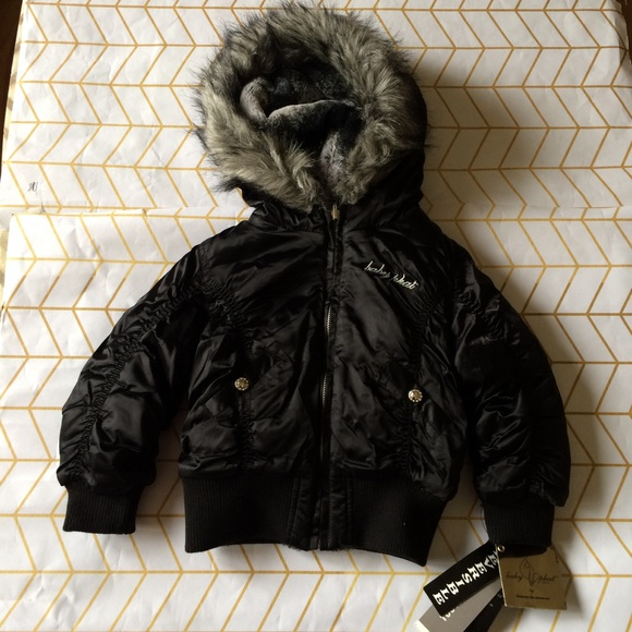 925fcb96 Baby Phat Girls Reversible Puffer Jacket, 3T Boutique