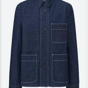Uniqlo Jackets Coats Womens Denim Jacket Poshmark