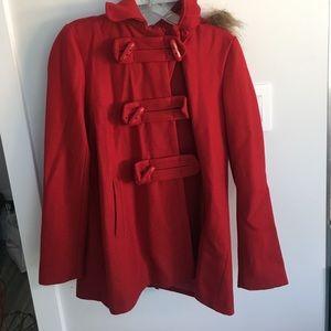 Forever 21 Red Coat