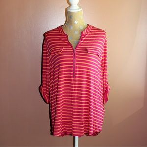 Striped Calvin Klein tunic