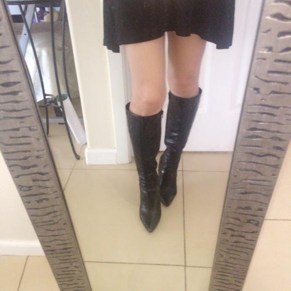 579fe0b18a8 Nine West Gallivant Black Boots