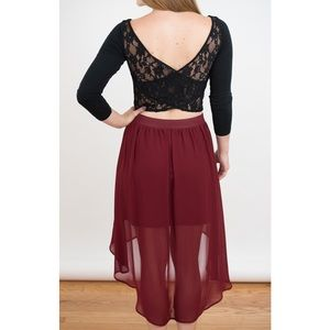 Forever 21 High Low Skirt