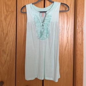 Mint Green Tank Top