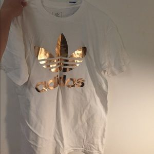 Adidas Rose gold shirt