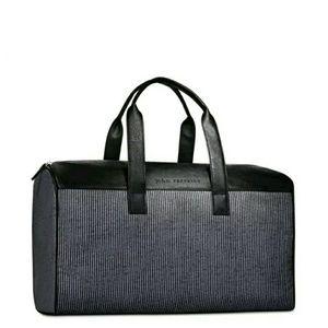 John Varvatos Bags Striped Weekender Bag Poshmark