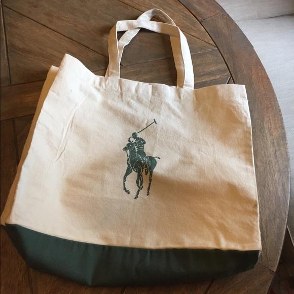 32a6764dec Polo Ralph Lauren Organic Cotton Tote Bag. M 59b99f4e8f0fc45c1c004830