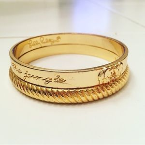 Gold Detailed Lilly Pulitzer Bracelets