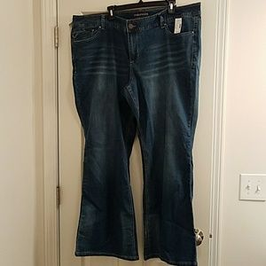 BNWT Maurices Medium Rinse Flare Jeans Size 26R