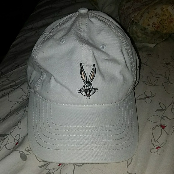 8ebba934 Forever 21 Accessories | On Hold Nwt White Bugs Bunny Dad Hat | Poshmark