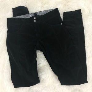 Athleta Black Tall Velvet Outdoor Camping Pants