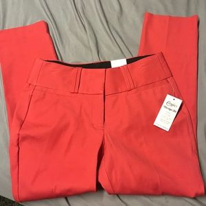 Candie's Red dress pants. NWT!