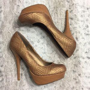 $20⬇️ JustFab platform heel