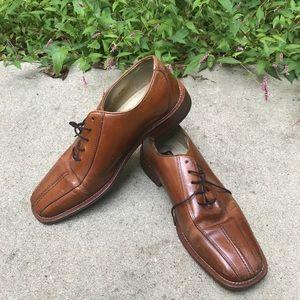 Men's Stacy Adams brown dress shoes